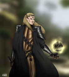 Dragon age - Elgar'nan by xXxAnnaXx