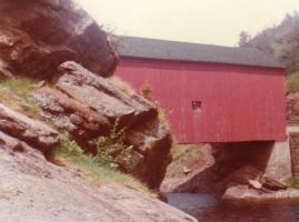 Covered bridge...much closer by Ripplin