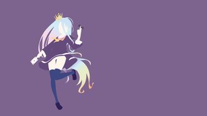 Shiro (No Game No Life) Minimalistic by Ancors
