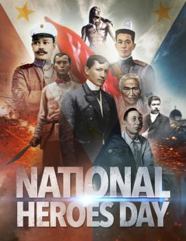 Philippine National Heroes Day_August 28 by 3demman