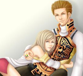 Steal Me -Balthier x Ashe- by GawainesAngel