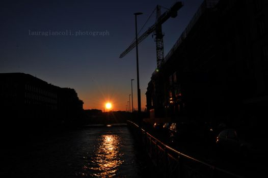 geneve's sunset by lauragiancolipho