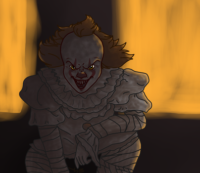 Pennywise by Helkie-three