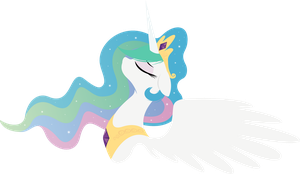 Princess Celestia - with some sparkles by Rariedash