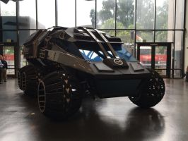 NASA Mars Rover Vehicle Concept at Smithsonian by rlkitterman