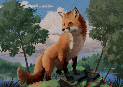Fox Ate The Title :( by Altarior