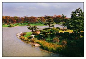 Japanese Garden by Captain-Planet