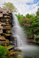 Zoo Waterfall by somadjinn