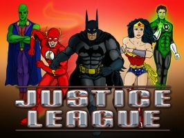 The Justice League by Stone-Fever