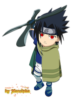 Chibi Sasuke Movie1 Sharingan by Marcinha20