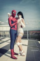 Spiderman X Silk by GhiandaiaCosplay
