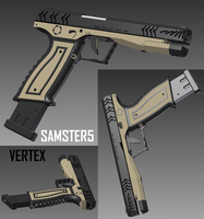 Handgun, Vertex by SAMSTER5