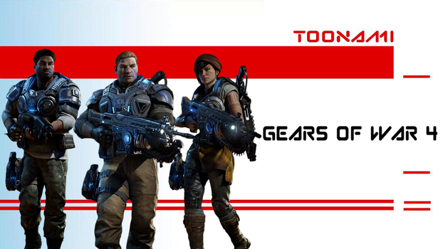 Toonami - Gears Of War 4 by kgifted91