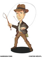 Harrison Ford aka Indiana Jones by winnetouch
