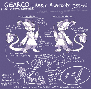 GEARCO - Basic Anatomy Lesson by ShiroTheWhiteWolf