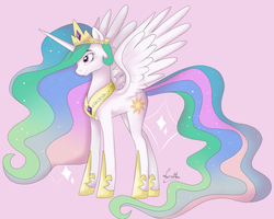 Princess Celestia by sofilut
