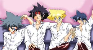 100 Beyblade pics by IluvJin309