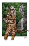 WIld Elf Hunter color by MitchFoust