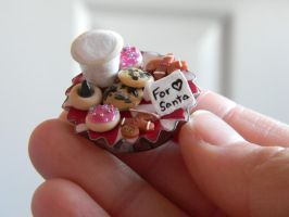 Cookie Platter Magnet-Miniature-Polymer Clay by ThePetiteShop