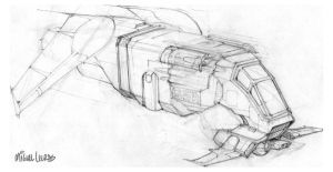 Ship Sketch by Miggs69