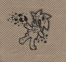 Barky on a napkin by pupom