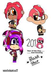 Octo expansion Doodles by InkelyTheHedeling13