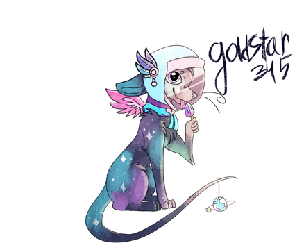 How can she lick the popsicle? LOGIC! by Goldstar345