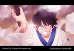 Gintama 588: Shinpachi by AlexanJ