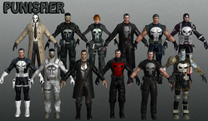 Punisher Marvel Heroes XNALara by Xelandis