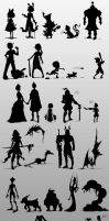 30 Silhouettes by wishuponapixel