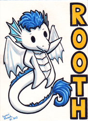 Rooth Ridicudorable Badge by MaryCapaldi