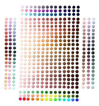 Skin Colour + Others  Palette by Spudfuzz