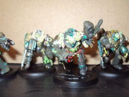 Nurgle Obliterators 1 by Halcenion