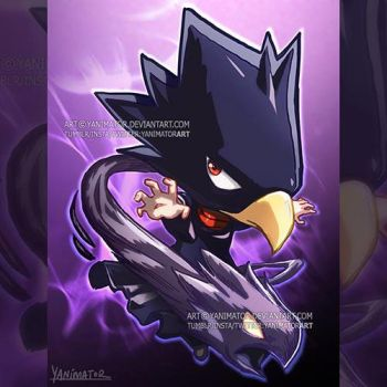 My Hero Academia- Happy Birthday Tokoyami Fumikage by yanimator
