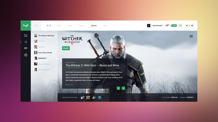 Steam Redesign Concept by Freestyler92