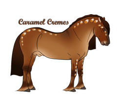 A3644 Caramel Cremes by ANIMALGIRL1869