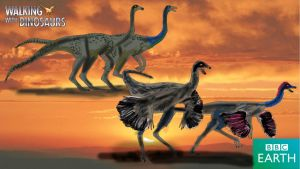 Walking With Dinosaurs Ornithomimus by Vespisaurus