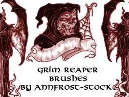 Grim reaper brush by AnnFrost-stock