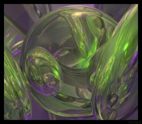 3D Abstract by arkaya