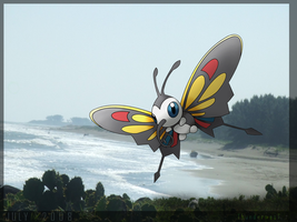 Beautifly... the july pokemon