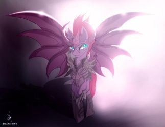 Tempest Shadow de Wyvern EX a Color by ZidaneMina