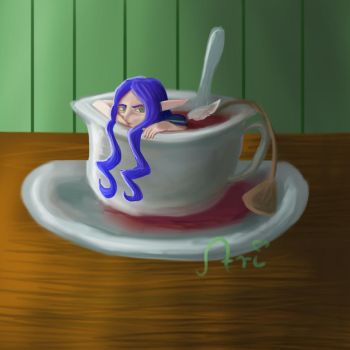 Tea Soaked Delirium by Arenja