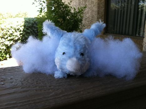 swablu plush by crocheted-of-snow