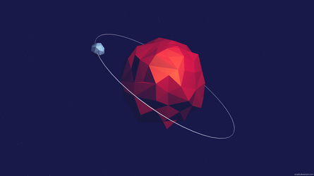 Low Poly Planet by Sicaida