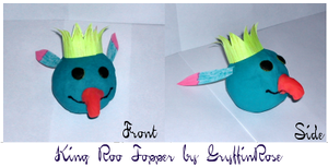 King Roo Antenna Topper by RoseSagae