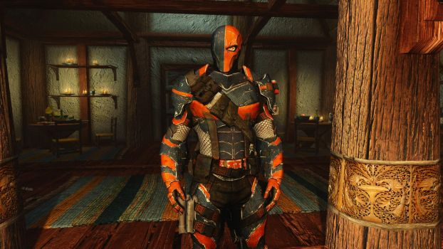Deathstroke Follower and Armor by user619