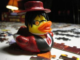 Alucard Duck by spongekitty