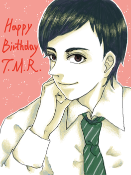 Tom Riddle by lauovera