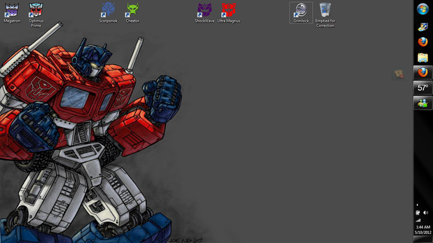 TF Desktop by StraitJacketDesigns