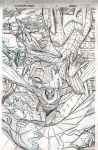 SPIDER-VERSE TEAM-UP page  2 pencils by BroHawk